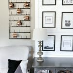 Rustic Black and White Gallery Wall