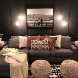 Dark Moody Room Makeover