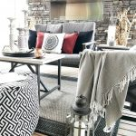 Fall Outdoor Living Space