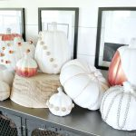 DIY Industrial Chic Pumpkins