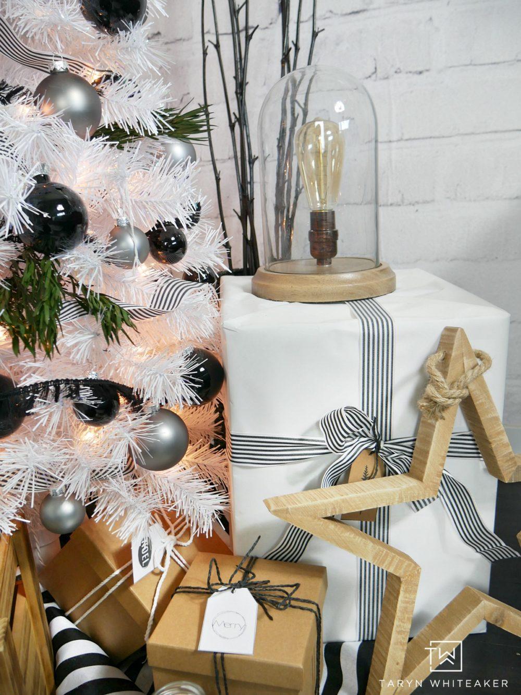 Tall Skinny White Christmas Tree