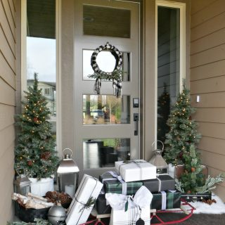 Festive Christmas Porch