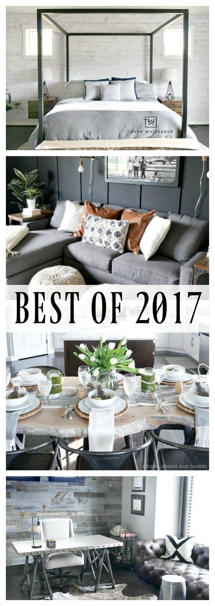 Check out the Best of 2017 from Taryn Whiteaker! From big room reveals, free printables, and decor ideas. Check it out and pin for this year!