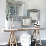 Chic Christmas Entry Way