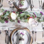 Floral Valentine's Day Table