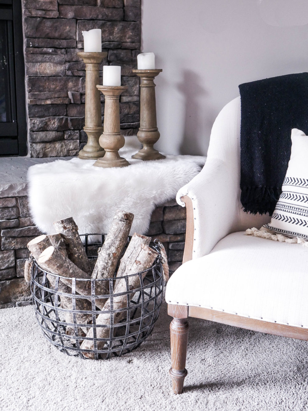Love decorative baskets but don't know what to do with them? Click to view Five Ways To Style A Basket around your house, they are decorative and practical for storage!