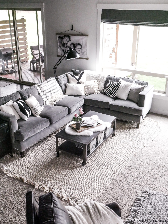 Living Room Paint Refresh - Taryn Whiteaker