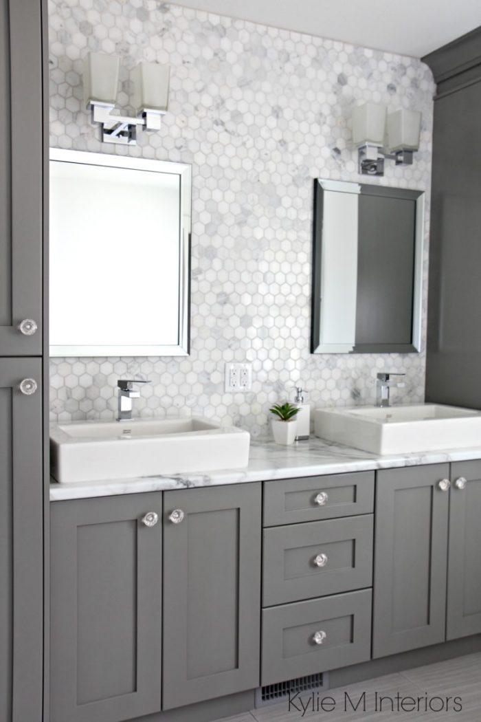 Bathroom Vanity Ideas with Gray