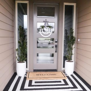 Modern Spring Porch Decor
