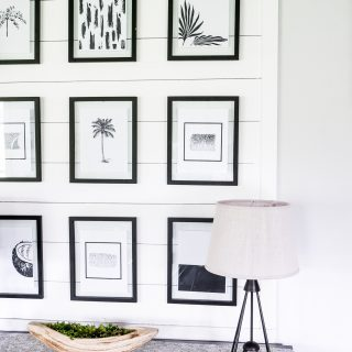 Black and White Tropical Printables