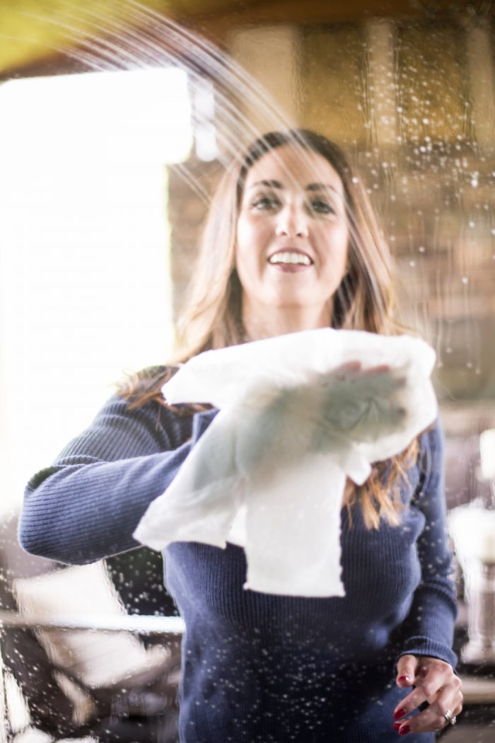 Cleaning your glass windows for spring!