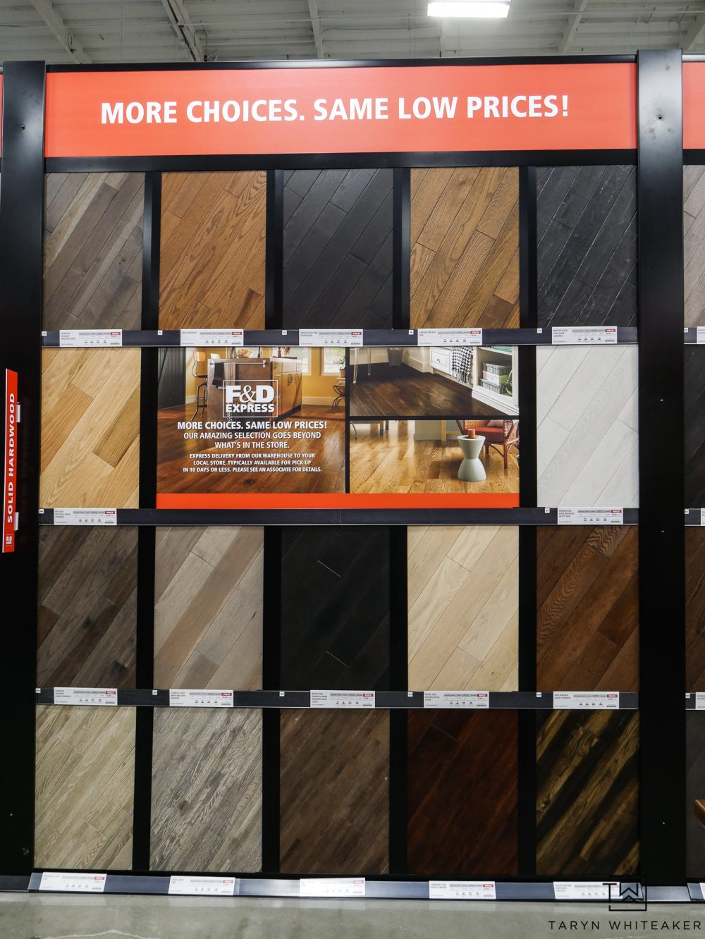 If You Are Looking For A Specific Wood Tone They Probably Have It From Every Shade Of Gray White Washed Natural Dark Espresso And Black