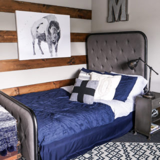 Navy Blue Bedding For A Boys Room