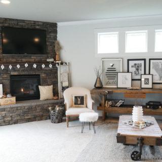 Cozy Fall Family Room