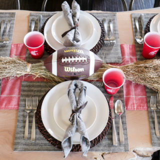 Football Table Decorations