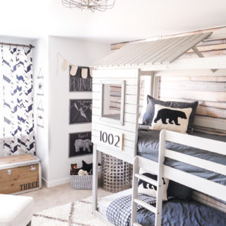 Modern Adventure Boys Room