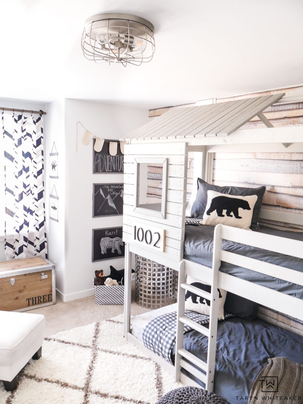 Modern Adventure Boys Room - Taryn Whiteaker
