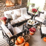 Decorating The Outdoor Living Space For Fall