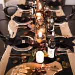 Moody Thanksgiving Tablescape