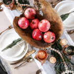 Organic Modern Christmas Table