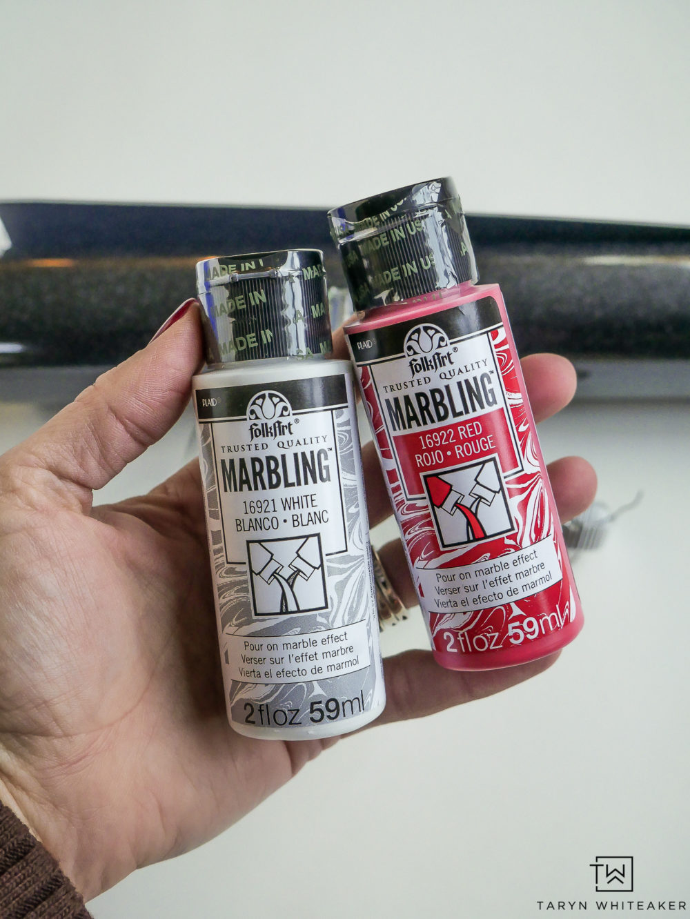 Folk Art Marbling Paint