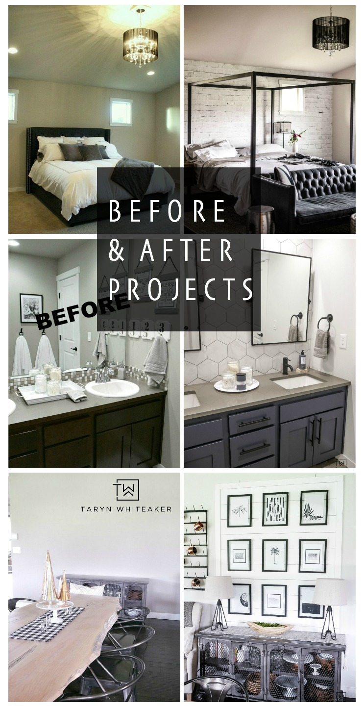 CLICK to see a collection of amazing before and after DIY projects! These will inspire you to transform your home from little to big projects that make a big difference!