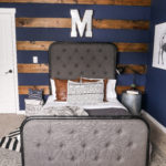 Navy Blue Boys Bedroom