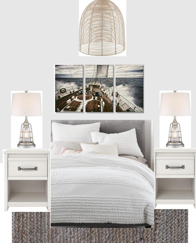 Modern Coastal Bedroom Ideas: Modern Coastal Bedroom Design