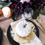 Plum Fall Table Decor