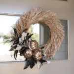 Feather Fall Wreath
