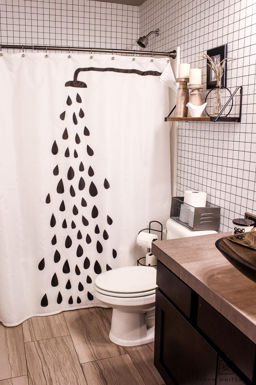 Modern Fall Bathroom Decor Ideas - Taryn Whiteaker