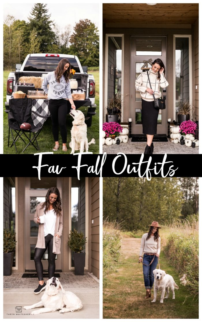 Click to see tons of cute and comfy fall outfits for every occasion.