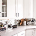 Kitchen Updates: Black Modern Cabinet Pulls