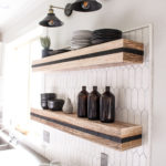 Installing Open Shelving In Kitchen