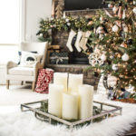 Black and White Christmas Home Tour