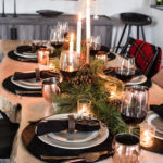 Rustic Chic Christmas Table