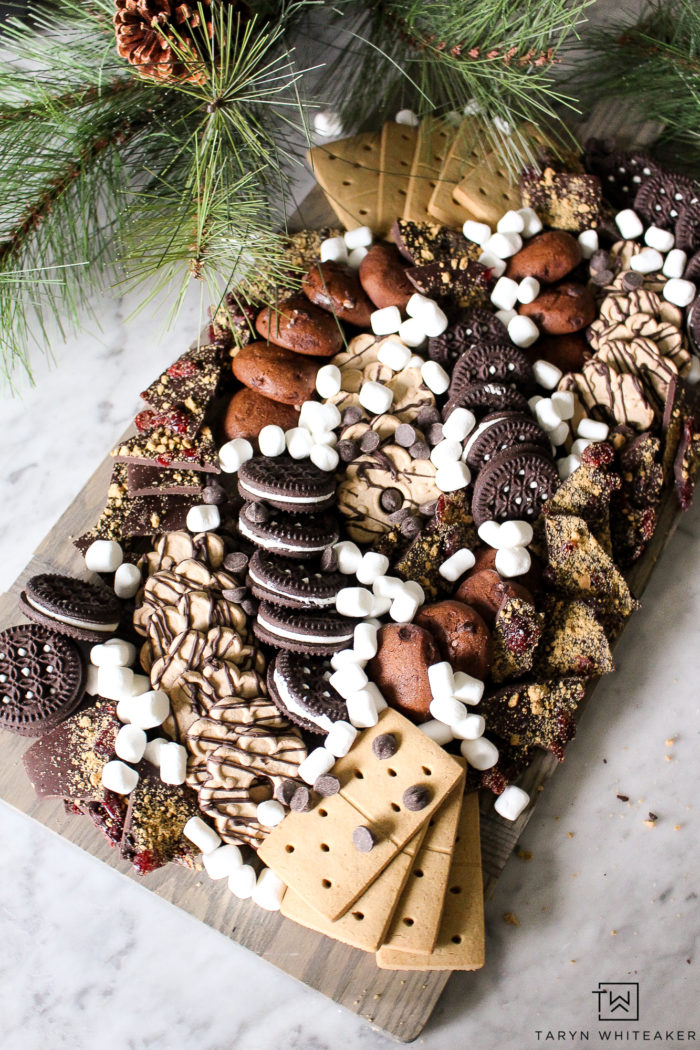 Learn how to create this gluten free dessert board using tons of delicious store bought gluten free cookies and desserts!