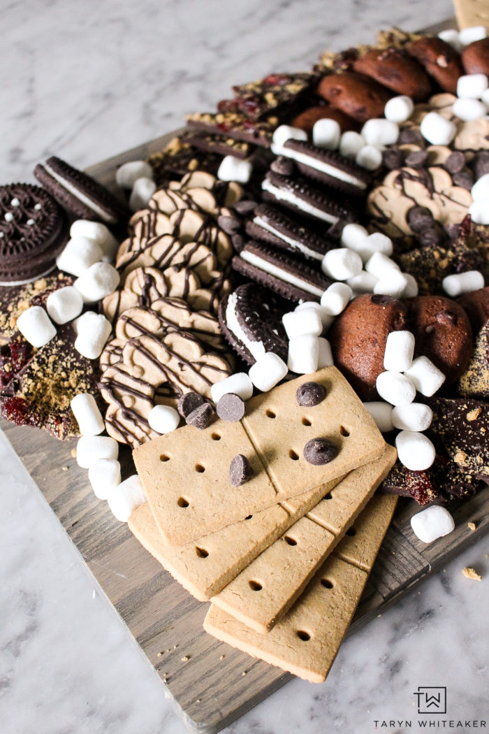 You'll be amazed that this is entirely gluten free! This chocolate charcuterie board is perfect for parties and entertaining!