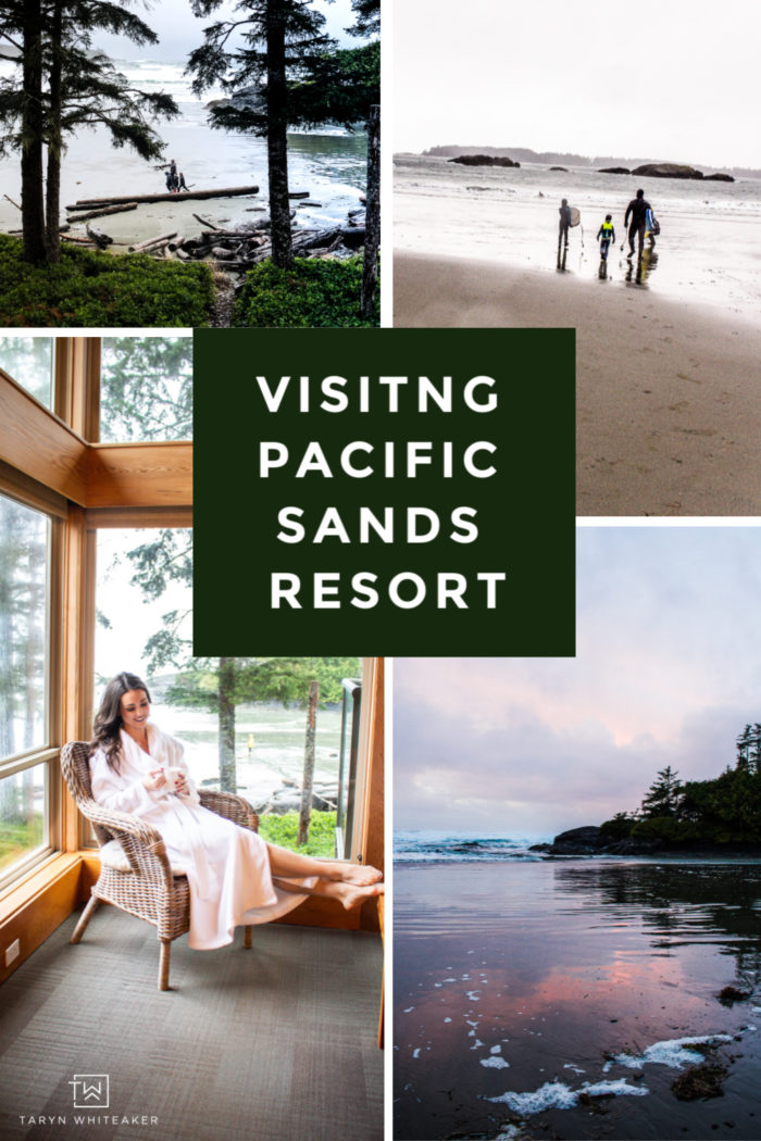 Plan your trip to Pacfic Sands Resort in Tofino! You won't get enough of the the scenic views, ocean waves, relaxation and exploring the the outdoors!