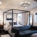 Black and White Master Bedroom Reveal