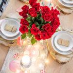 Classy Valentine's Day Table Decor