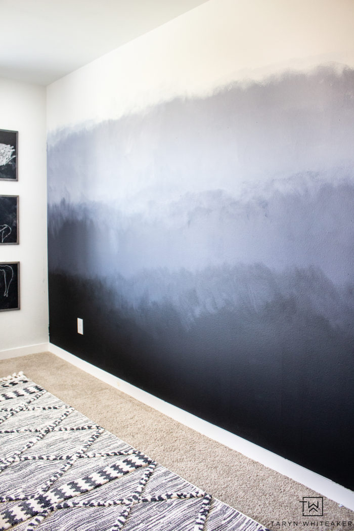 Diy Forest Accent Wall Taryn Whiteaker