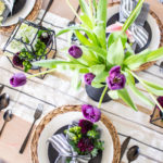 Spring Floral Table