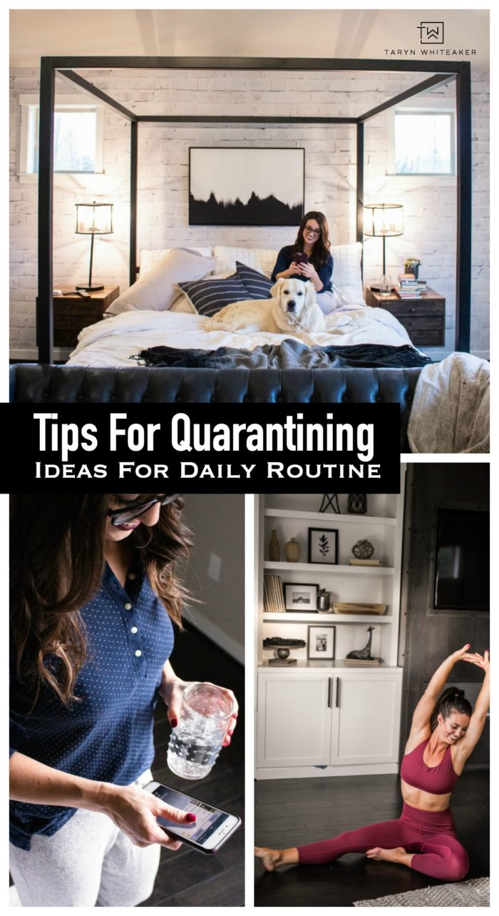 Sharing my My Tips For Quarantine , things that help me stay postiive, healthy and focus on the good. Try incorporating a few of these into your routine.