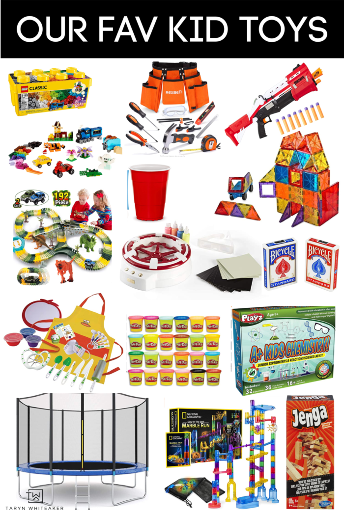 Check out our list of fav kid toys during Quarantine! These kid activites have been fun for the whole family and with kids ranging from 4-9 years old.