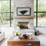 Light Stone Fireplace Inspiration