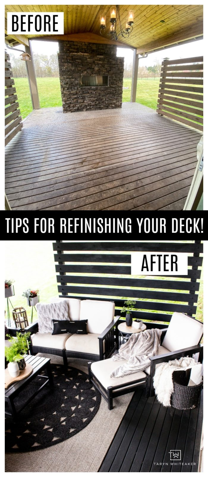 Get tips for painting a deck! Does your deck need refinishing? Learn how to clean, prep and paint your deck to give it a fresh look.