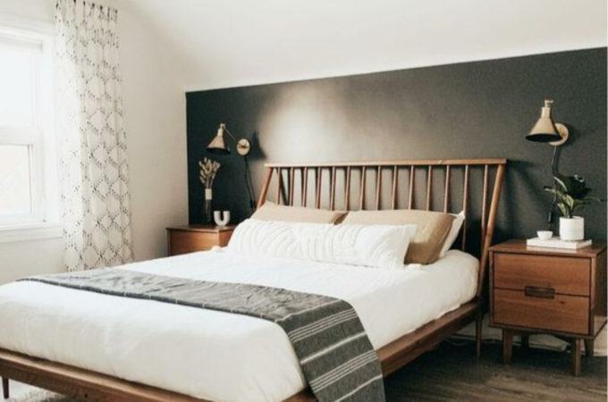 Green & Black Bedroom Ideas
