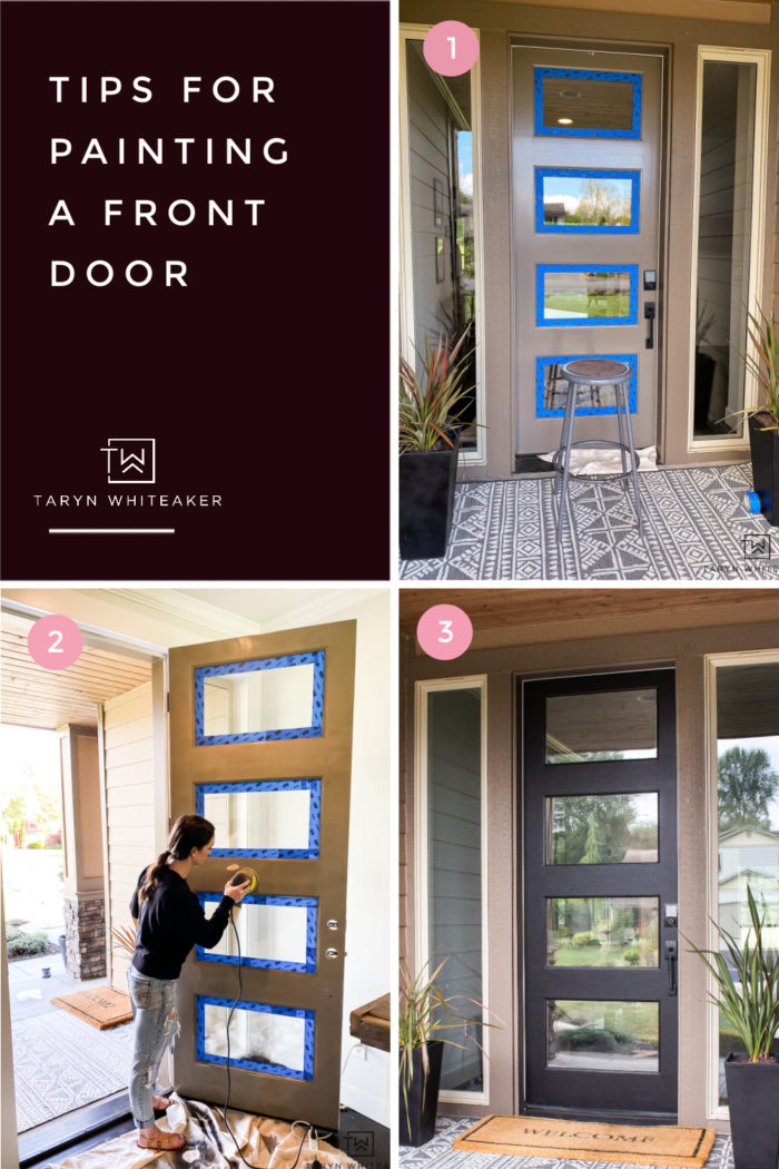 Get Tips for painting your own front door!