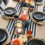Modern Halloween Table
